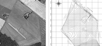 Levantamento topográfico planialtimétrico cadastral georreferenciado