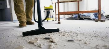 Limpeza e manutenção predial