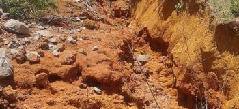 Recuperação de áreas degradadas por erosão